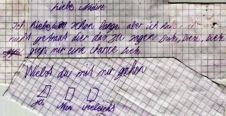 Liebesbrief an Nadine