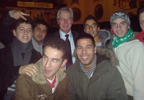 Meeting mit dem Bürgermeister
