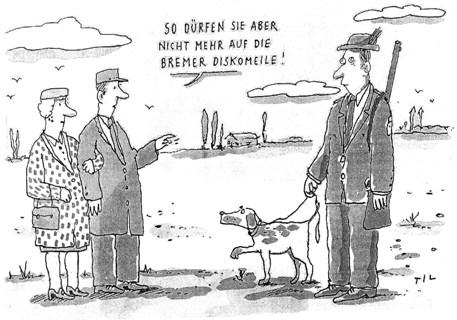 Til Mette und die Bremer Diskomeile