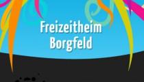 Screenshot von der Homepage des Freizi Borgfeld