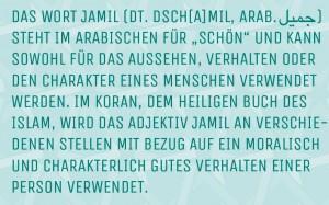 JAMIL - Wortbedeutung